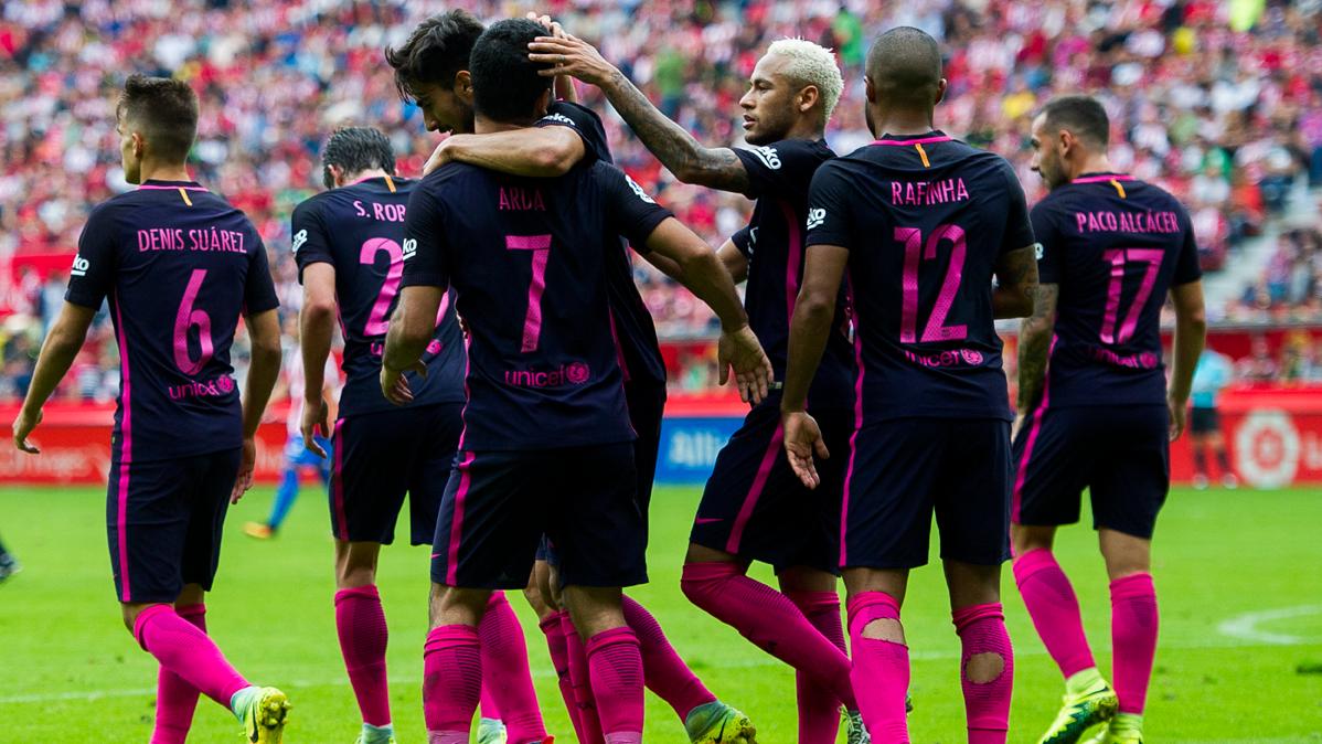 El FC Barcelona, el equipo m�s goleador de toda Europa