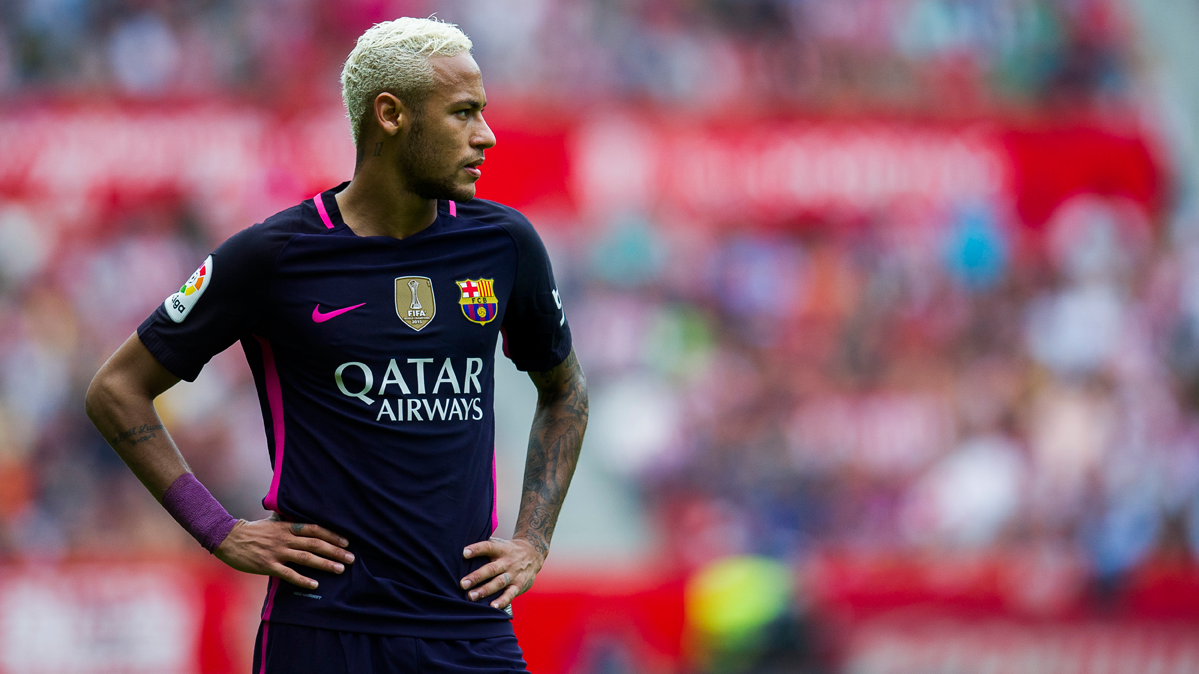 """La prueba que confirma que Neymar """"crece"""" sin Messi"""