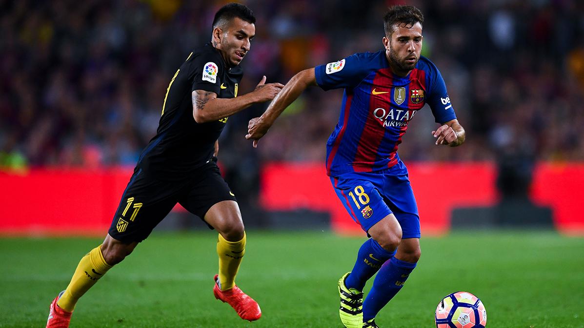 "Jordi Alba: ""Sergi Roberto lleva muchos a�os a un gran nivel"""