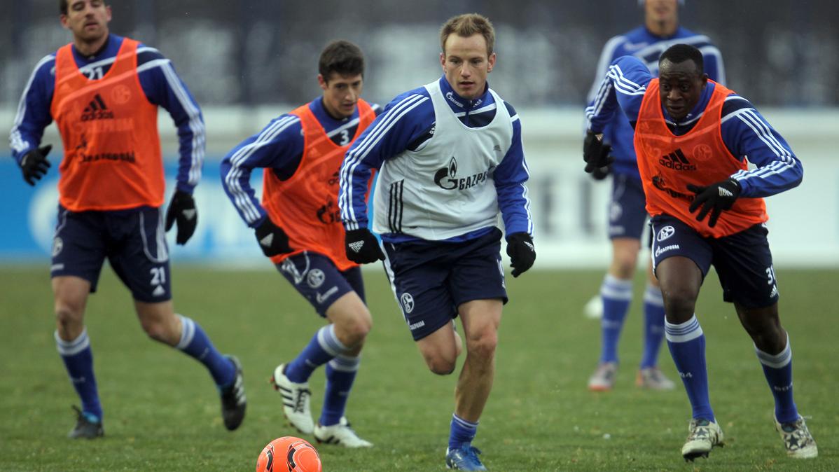 Rakitic ya sabe lo que es ganar al Borussia M'Gladbach