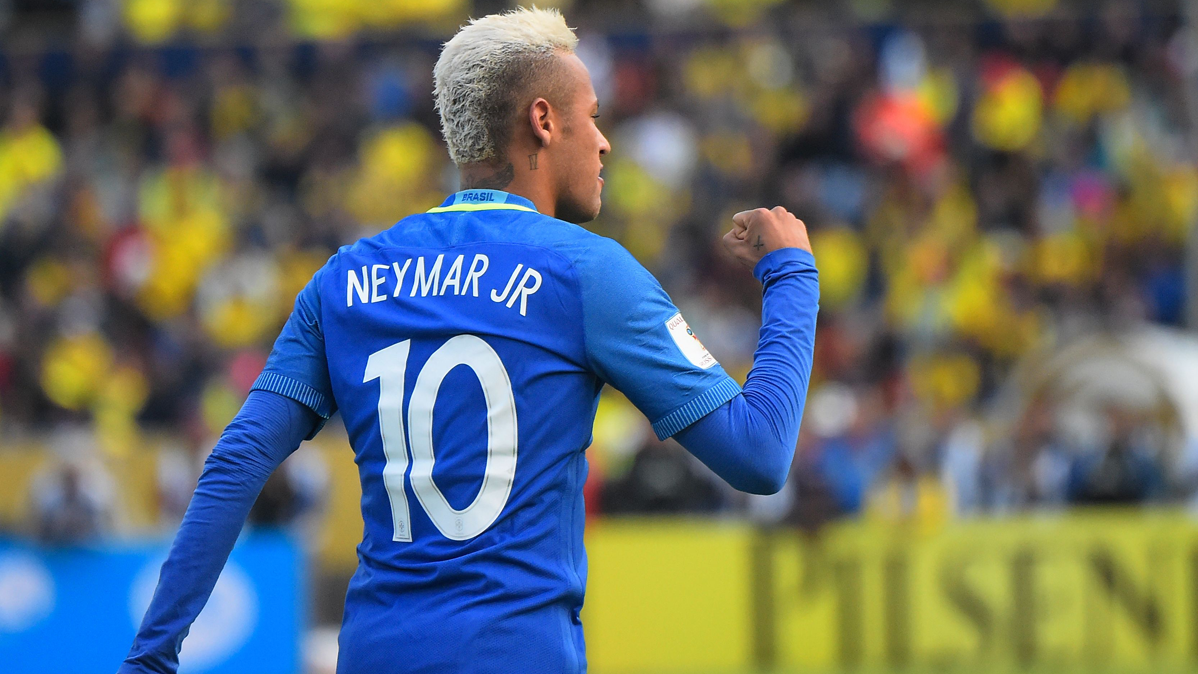 Ya hay relevo para Neymar en la capitan�a de Brasil
