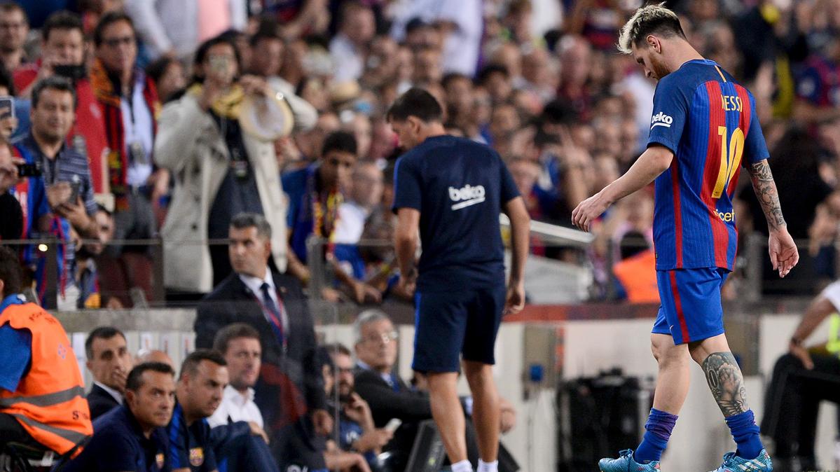 "<span class=""green"">OPTIMISMO:</span> La recuperaci�n de Messi marcha seg�n lo previsto"
