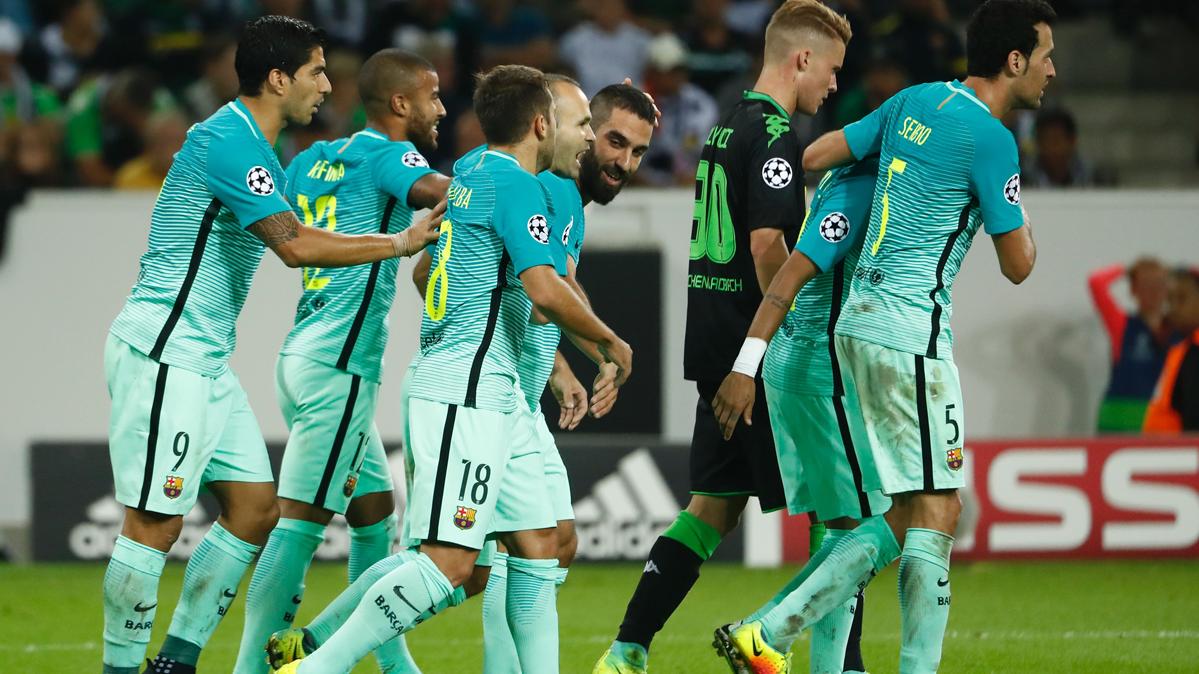 """<span class=""""green"""">GOLAZO:</span> Arda empat� tras un pase de fantas�a de Neymar"""