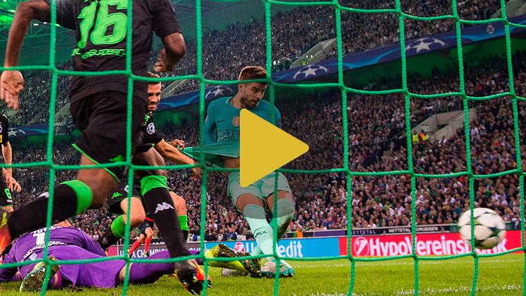 V�deo resumen: Borussia M'Gladbach 1 Barcelona 2