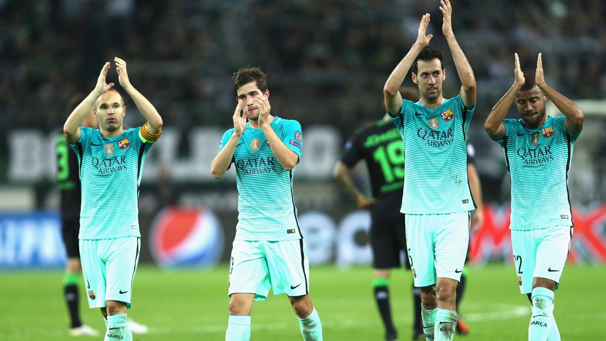 As� reaccionaron los jugadores del Bar�a tras el triunfo