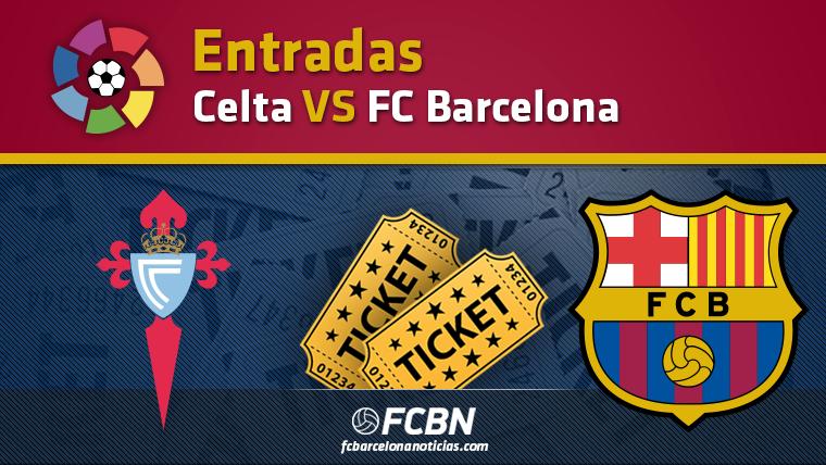 Entradas Celta de Vigo vs FC Barcelona