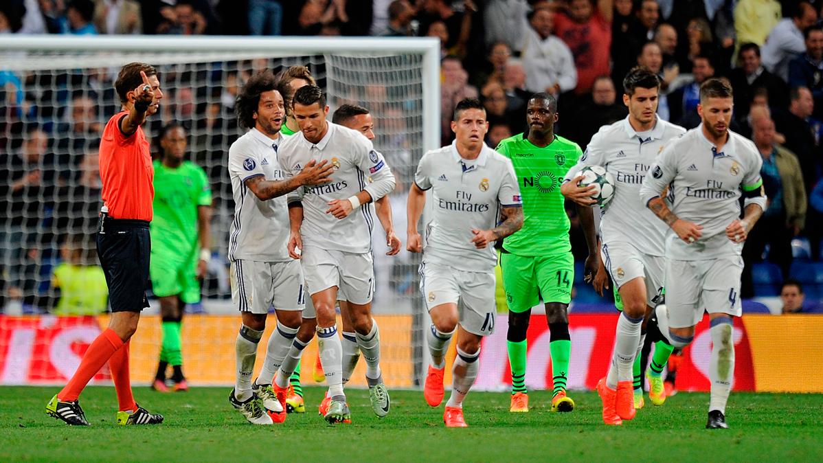 �Multan al Real Madrid por el partido contra el Sporting!