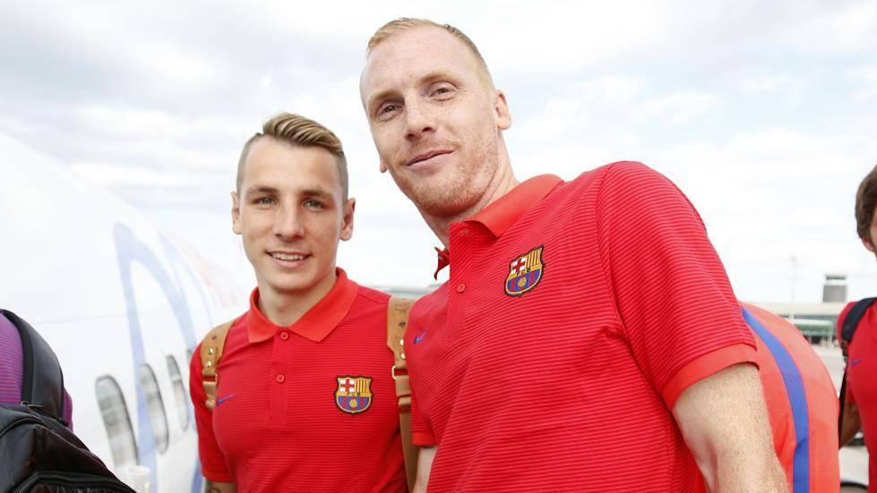 Lucas Digne y Jeremy Mathieu, convocados con Francia