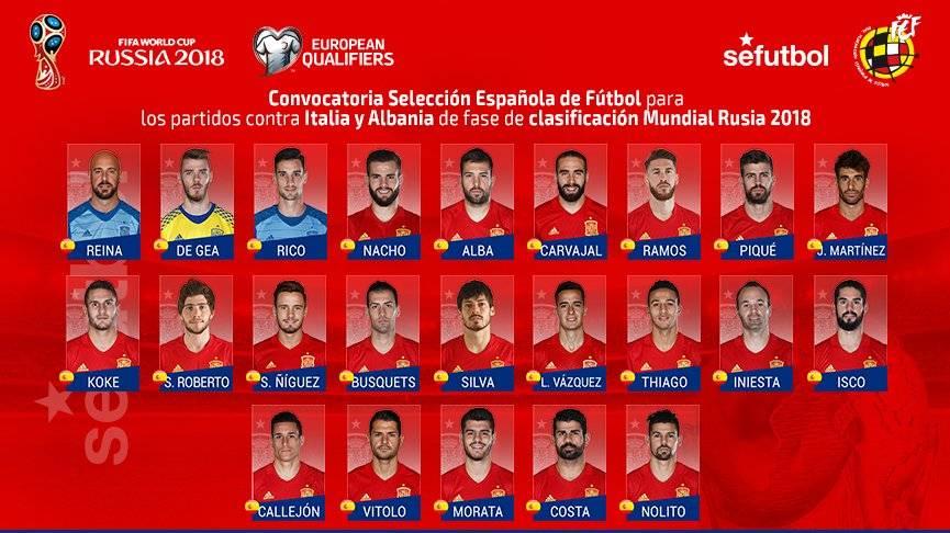 Iniesta vuelve con Espa�a pero Alc�cer se cae de la lista