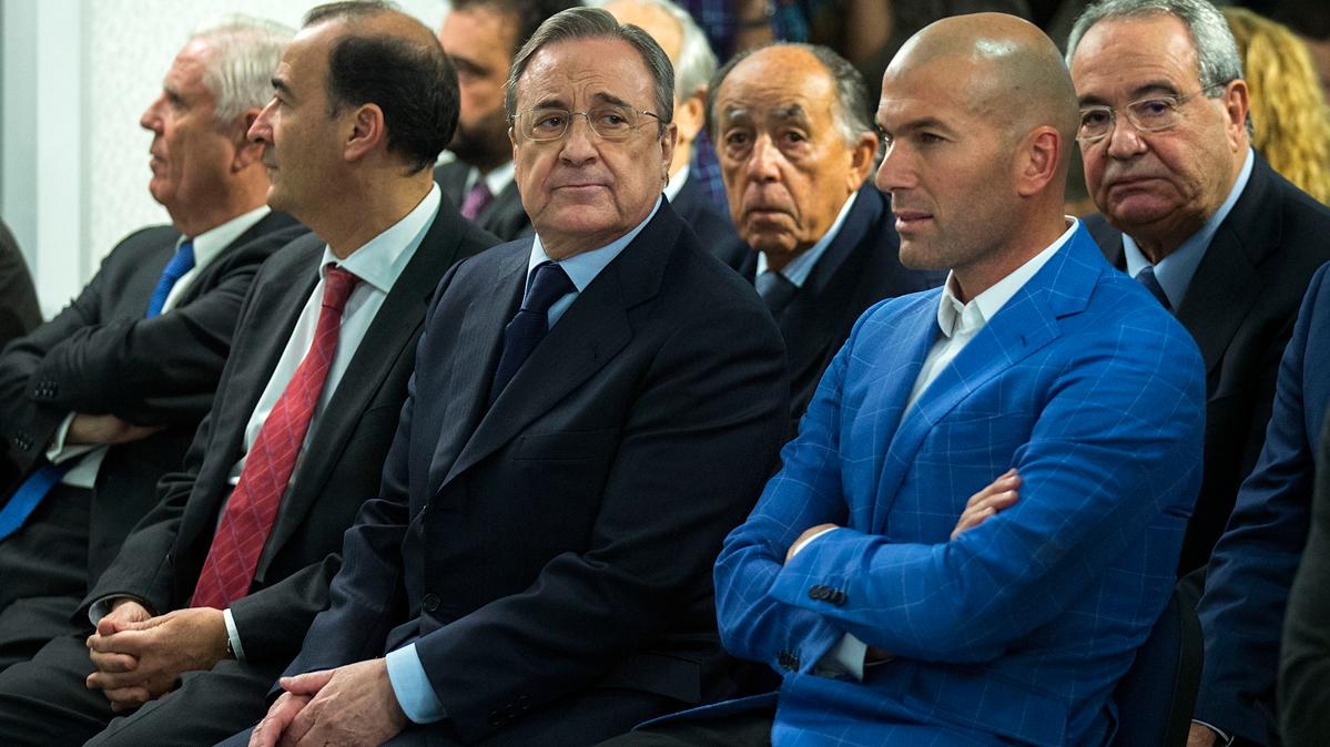 """<span class=""""yellow"""">ALERTA:</span> Llamada de Florentino a Zidane en el Real Madrid"""