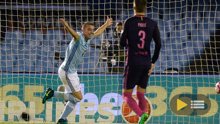 V�deo resumen: Celta de Vigo 4 FC Barcelona 3 (Liga J7)