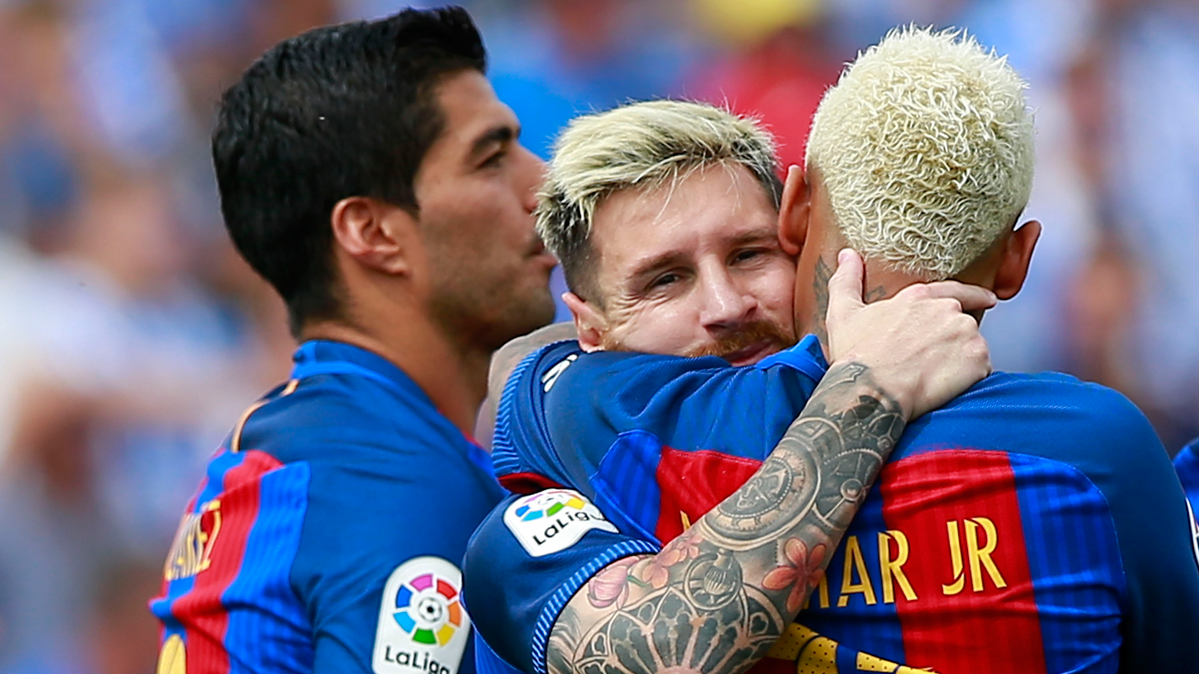 Messi, el mejor delantero de 2016 a pesar de la lesi�n