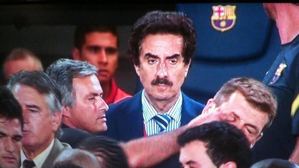 """""""�El dedo en el ojo de Mourinho a Vilanova? Un acto reflejo"""""""