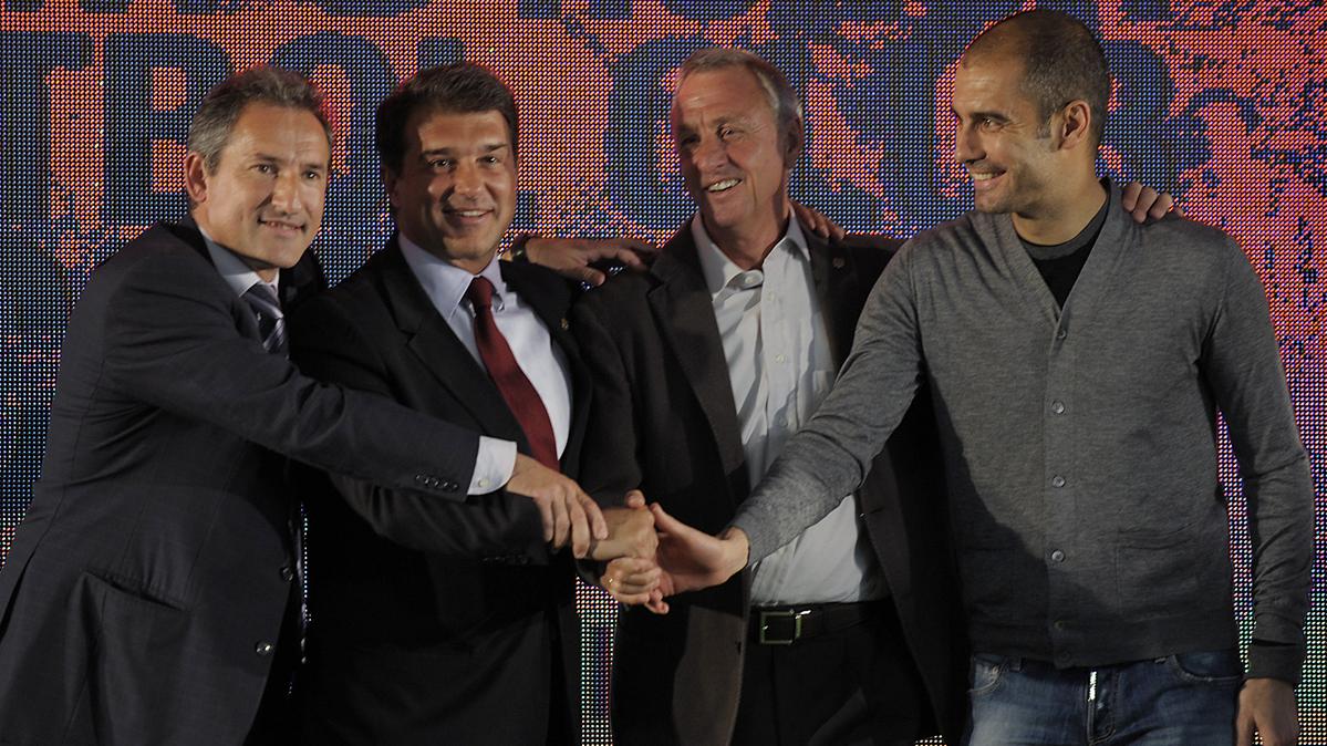 El consejo de Cruyff que ha hecho triunfar a Pep Guardiola