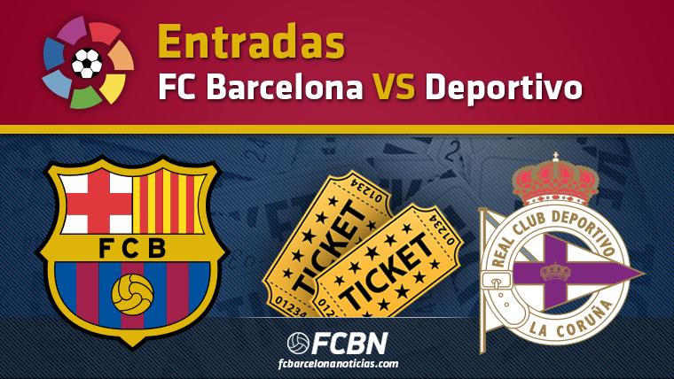 Entradas FC Barcelona vs Deportivo de La Coru�a