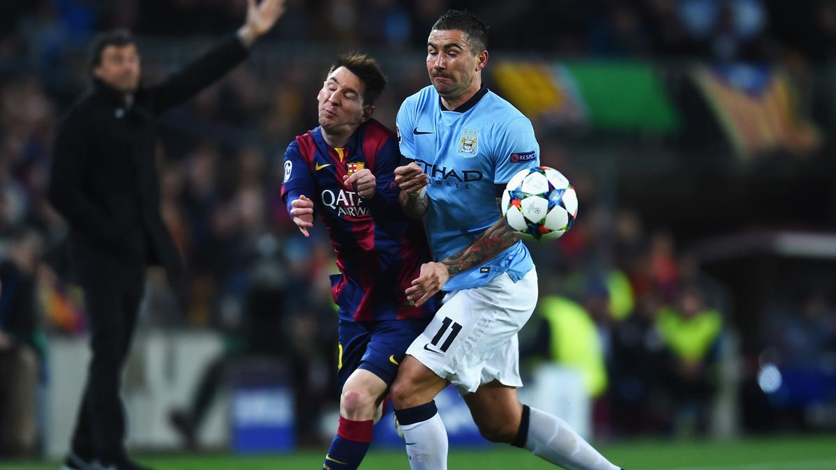En el Manchester City no quieren ver a Messi ni en pintura