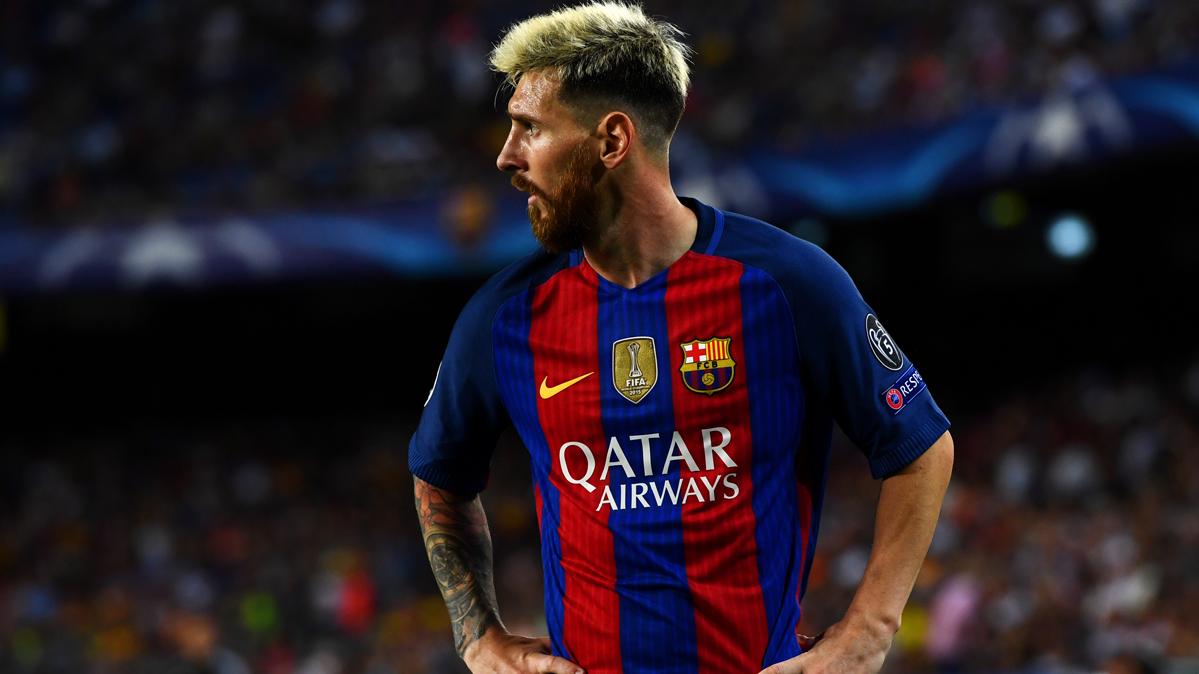 Messi, en el once de las grandes personalidades del f�tbol