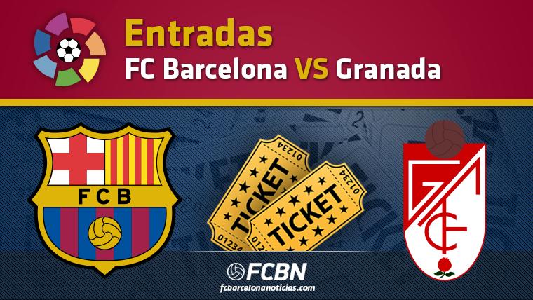 Entradas FC Barcelona vs Granada