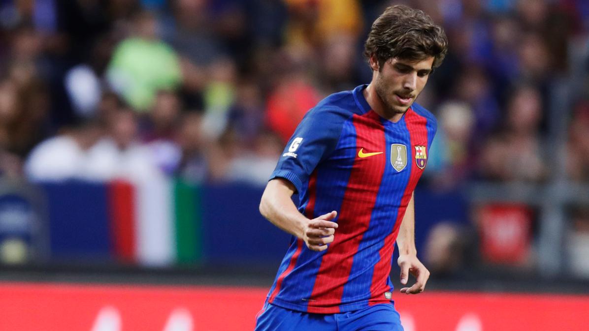 El Barça informa sobre el estado de Sergi Roberto y Cillessen