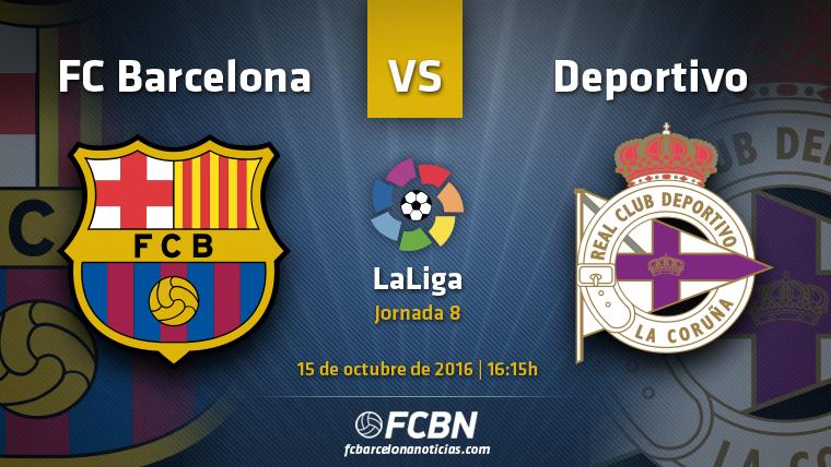 FC Barcelona-Deportivo: El Bar�a, a reencontrarse en Liga