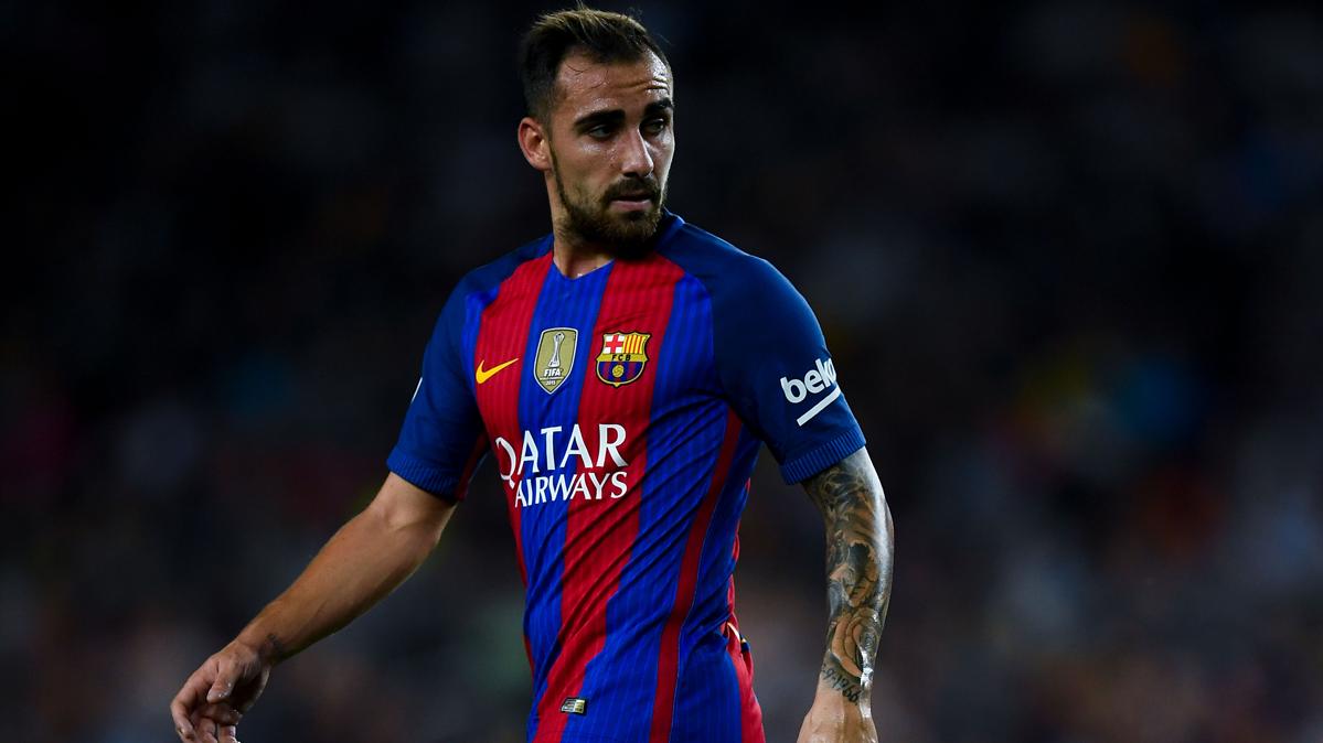 Contin�a la ansiedad de Paco Alc�cer en el FC Barcelona