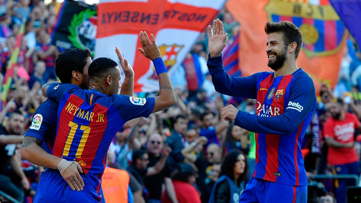 El Camp Nou llev� a los suyos en volandas este s�bado
