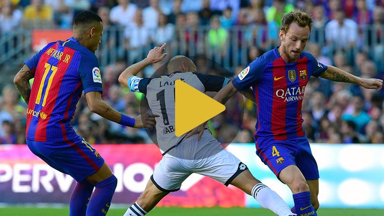 Rakitic personaliza la felicidad por la vuelta de Messi