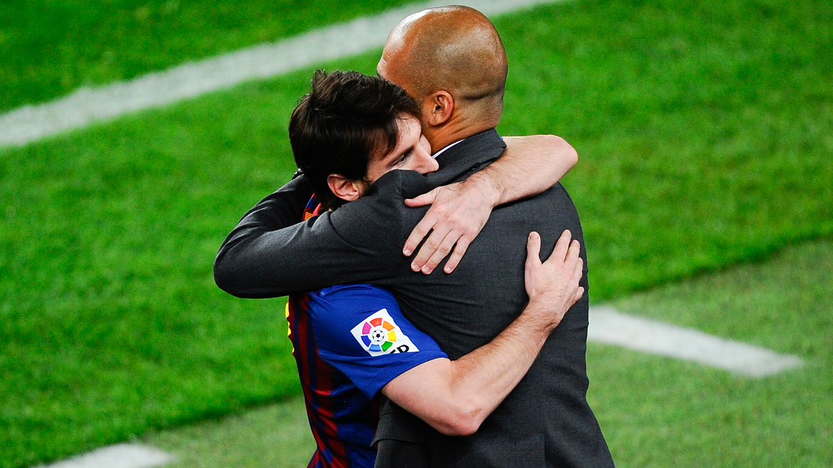 The 10 sentences of admiration of Guardiola to Messi