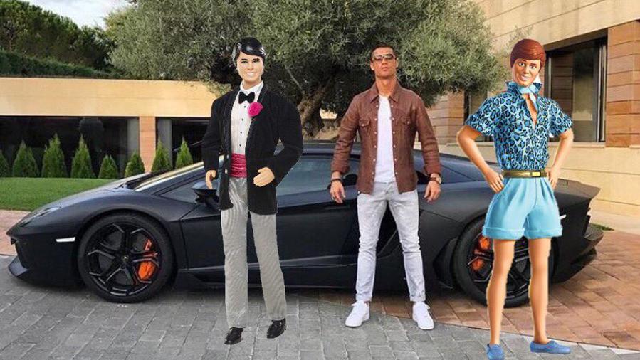 """<span class=""""green"""">HUMOR:</span> Cristiano intenta fardar de coche y queda en rid�culo"""