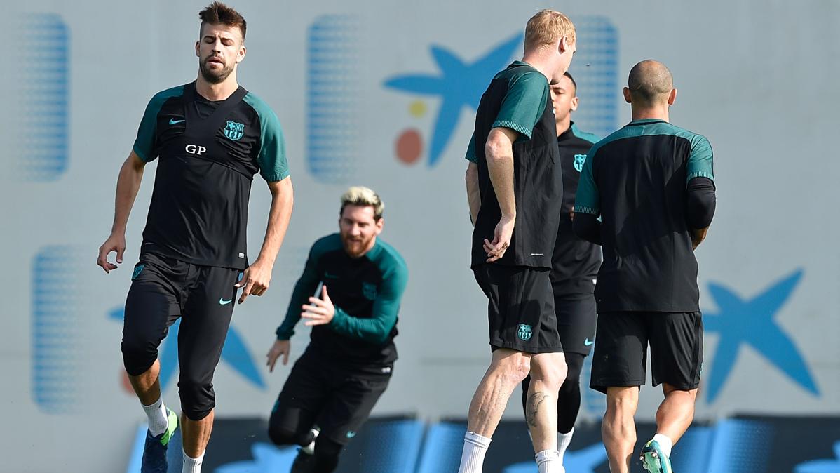 """Piqu� acepta que Guardiola pueda """"pescar"""" en el Bar�a"""