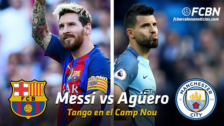 Messi vs Agüero: Tango en el Barcelona-Manchester City