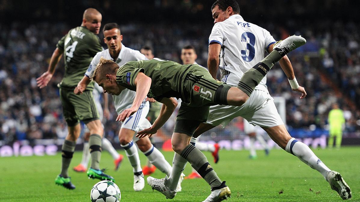 Apacible goleada del Real Madrid sobre el Legia (5-1)