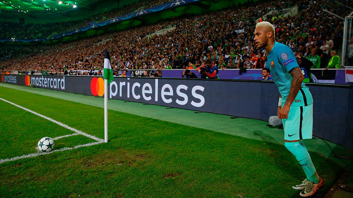 """Neymar busca seguir siendo el """"rey de las asistencias"""""""