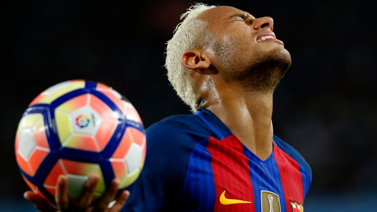 Neymar, 150 partidos con el Bar�a frente al Manchester City