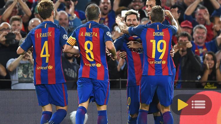 V�deo resumen: FC Barcelona 4 Manchester City 0