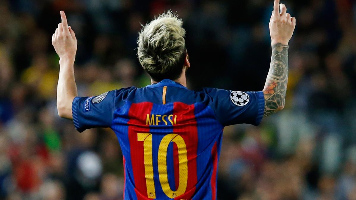 "Leo Messi también ""golea"" a la BBC del Madrid"
