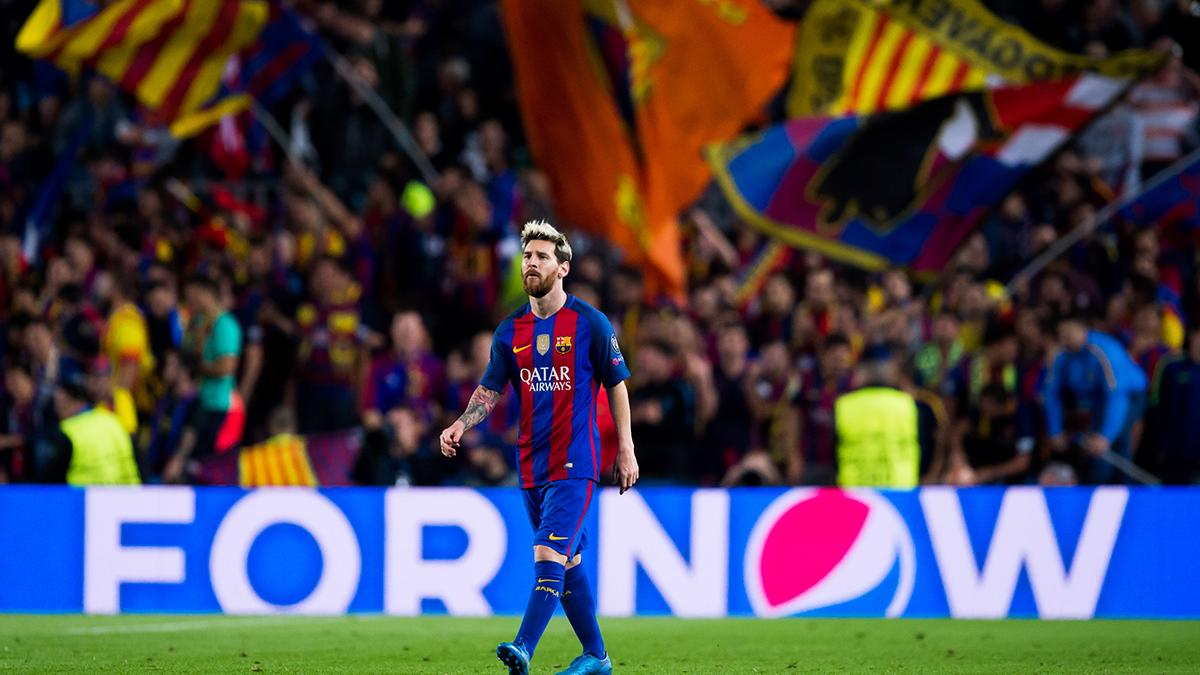 El Camp Nou rugió a todo pulmón en su partido 1500