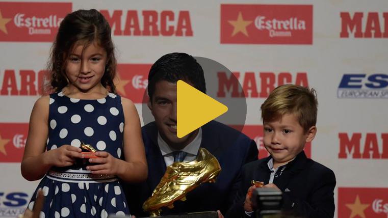 Luis Su�rez ya tiene su segunda Bota de Oro