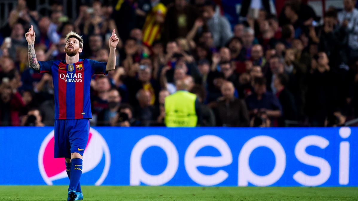 """<span class=""""green"""">INCRE�BLE:</span> Messi dobla al segundo m�ximo goleador del Bar�a"""
