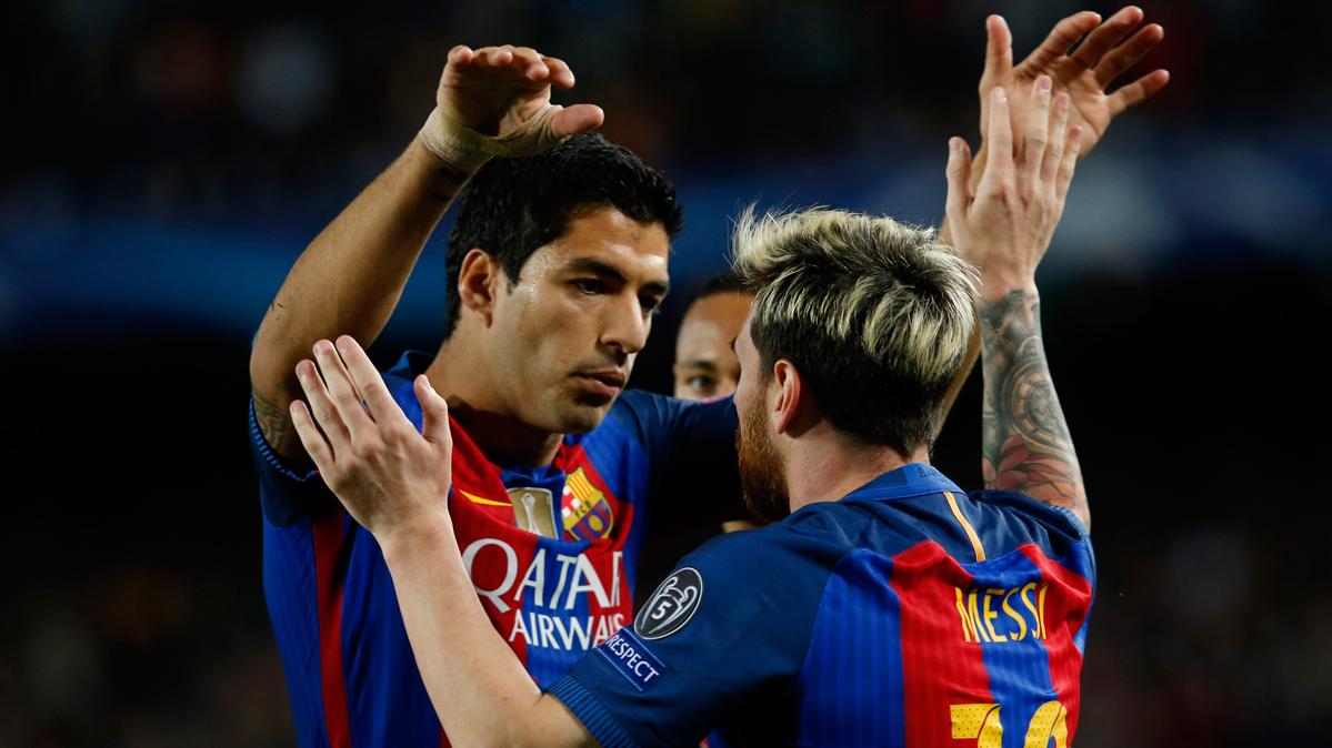 Tierna respuesta de Luis Su�rez a la felicitaci�n de Messi