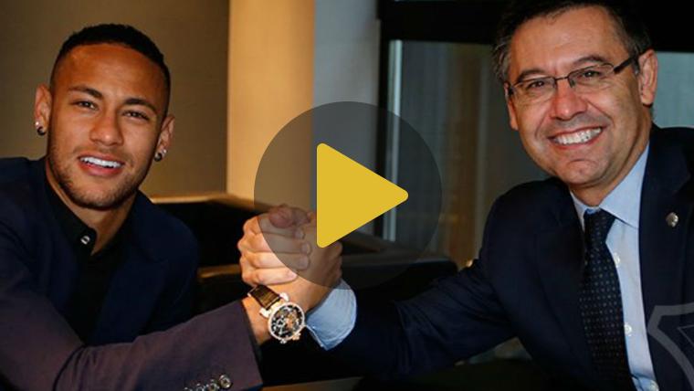"""<span class=""""green"""">OFICIAL:</span> Neymar renueva hasta 2021 con cl�usula especial"""