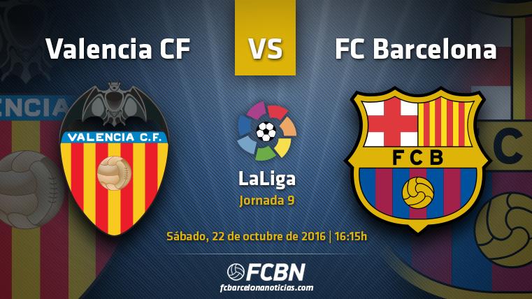 Valencia CF-FC Barcelona: No se permite tropezar en Mestalla