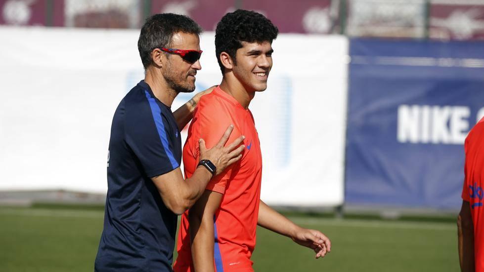 Eso es lo que Luis Enrique le pide a Carles Aleñá para debutar