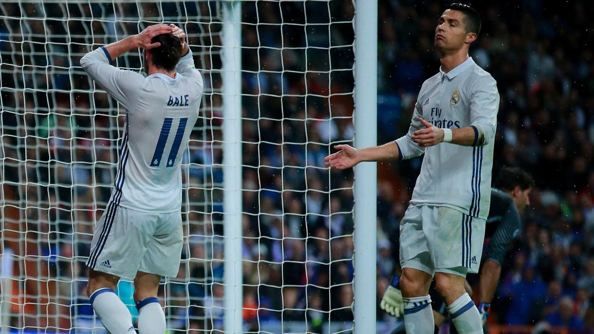 As� falt� al respeto Cristiano a sus compa�eros ante el Athletic