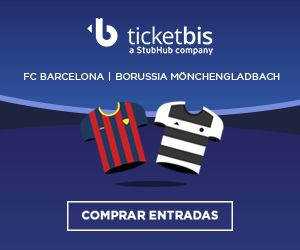 Entradas FC Barcelona - borussia Monchengladbach