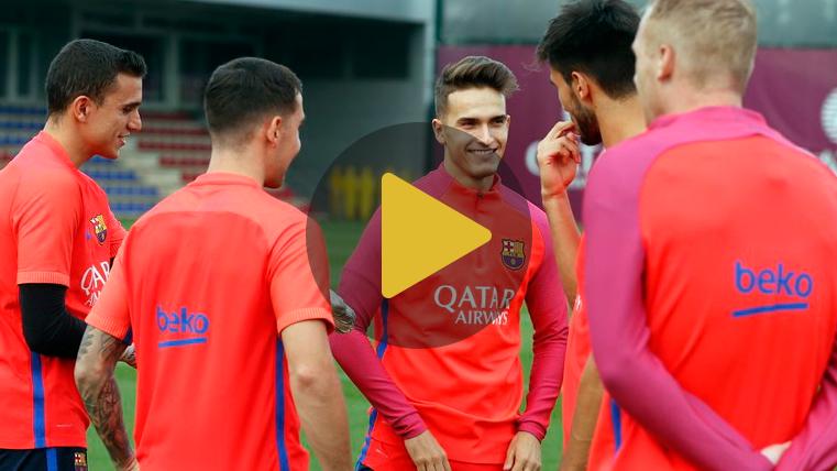 El Bar�a ya prepara la Supercopa de Catalunya con seis jugadores