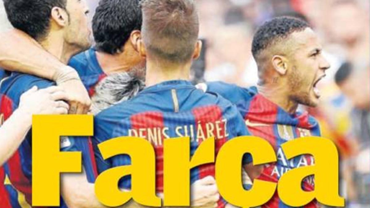 """Campaña de desprestigio de la prensa """"ché"""" hacia el Barça"""