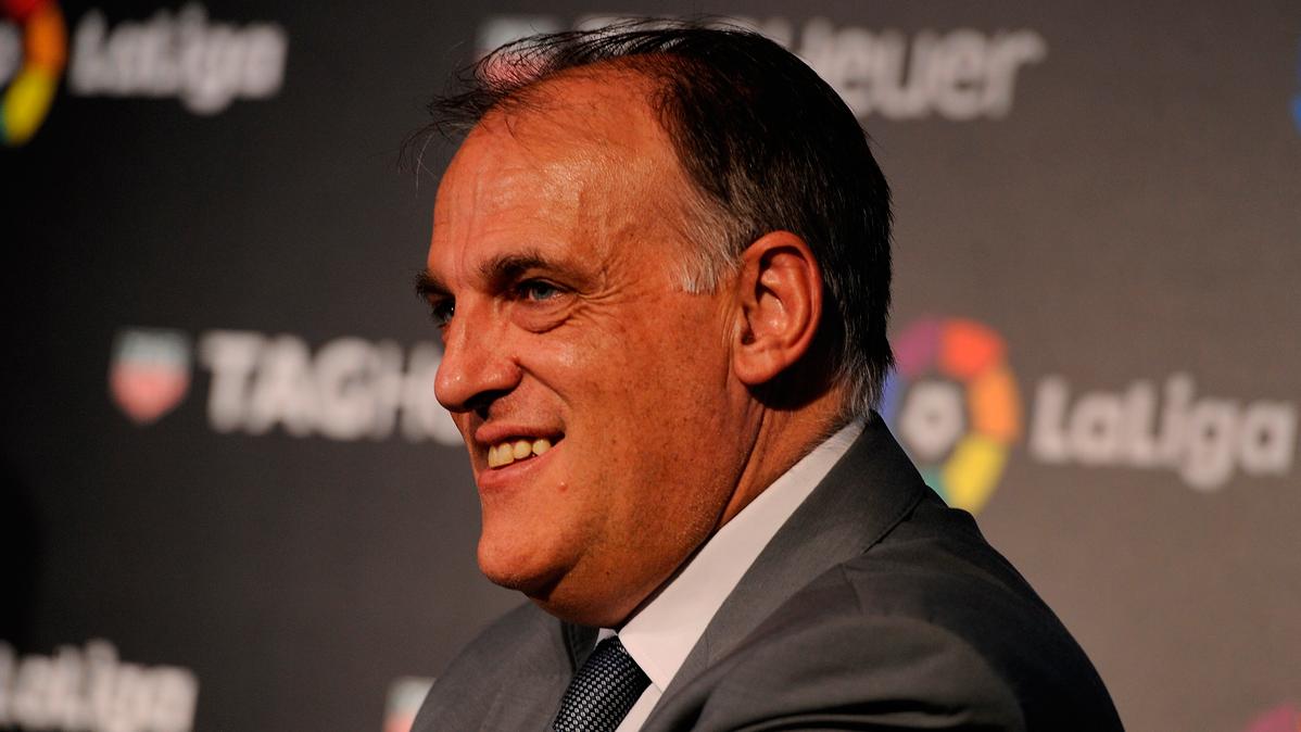 El presidente de LaLiga critica a los jugadores del Bar�a
