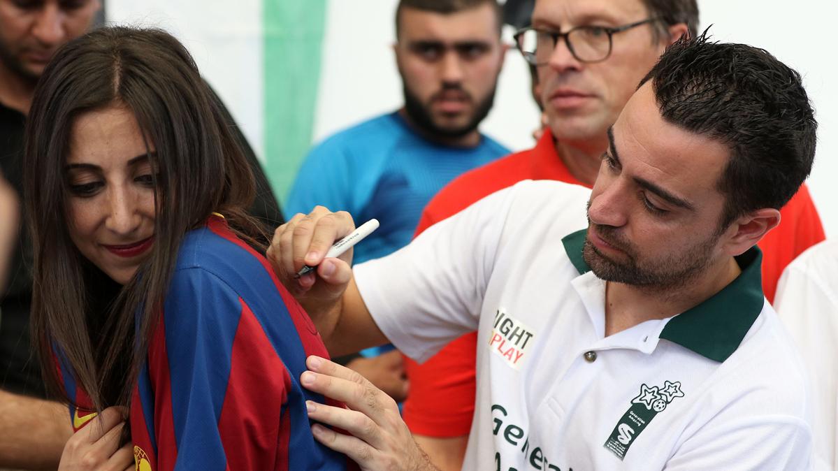 Xavi Hernández no se muerde la lengua con José Mourinho