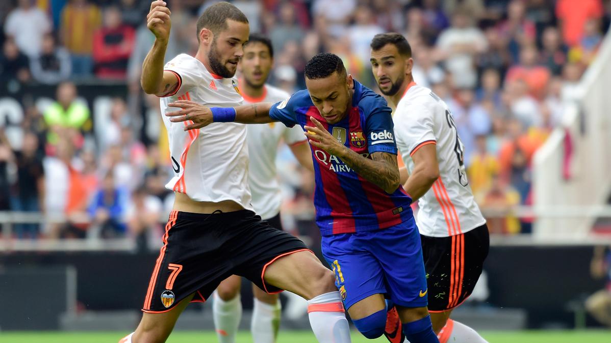 El Valencia vuelve a las andadas con sus cr�ticas a Neymar